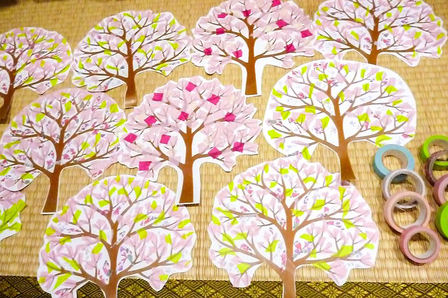 「咲きほこっています」