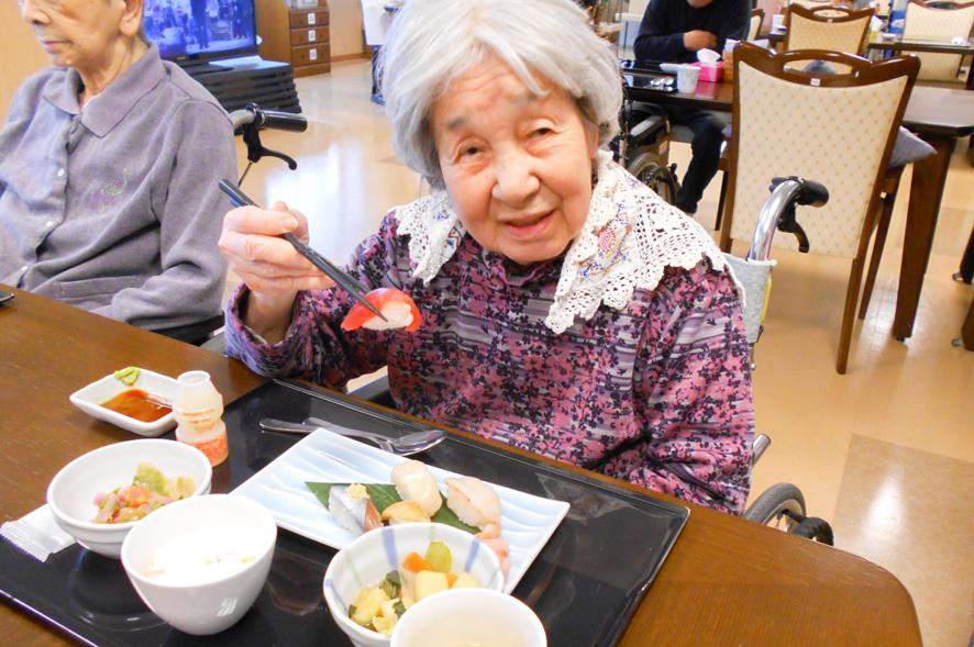 〜毎年恒例〜 大人気!寿司食べ放題