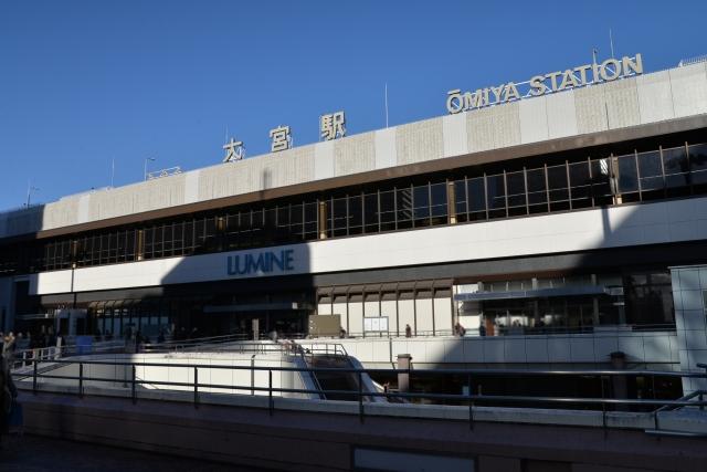 日進駅。 JR東日本、川越線の駅です。新幹線の駅もある大宮駅よりたったの1駅。