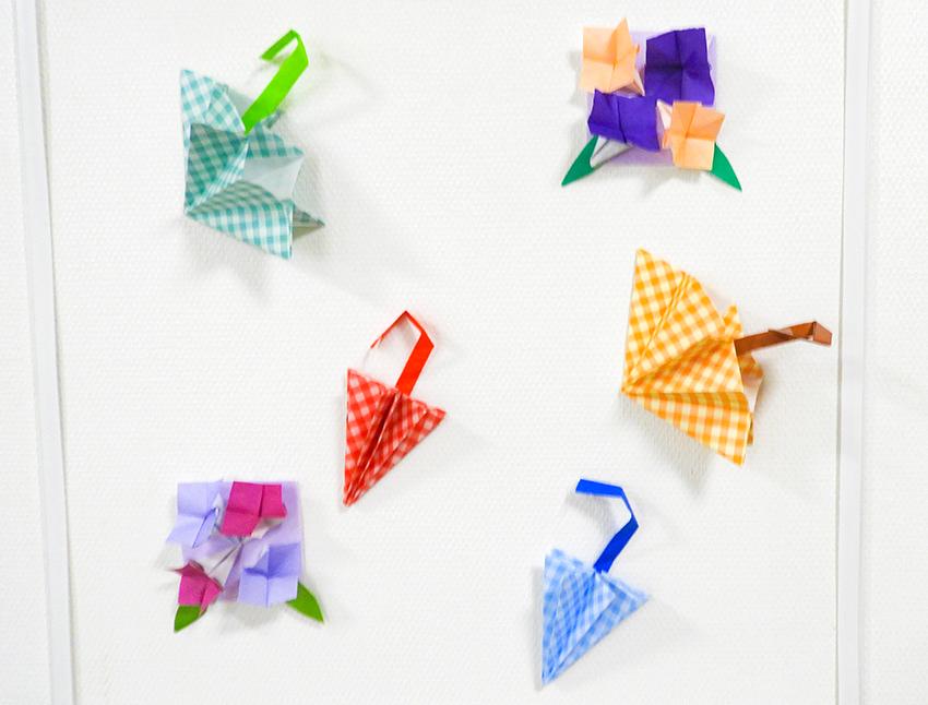 折り紙とピアノ